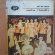 N1 Athenaios-Ospatul inteleptilor - Carte mitologie