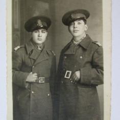 FOTO MILITARI CAROL II ANII 40 - Fotografie veche