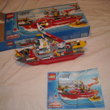 Lego City - 7207 - Barca pompieri