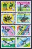 RWANDA 1977 - U.I.T. COMUNICATII,COSMOS 8 VALORI, NEOBLITERATE - RW 003
