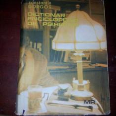 DICTIONAR ENCICLOPEDIC DE PSIHIATRIE VOL.III-CONSTANTIN GORGOS - Carte Psihiatrie