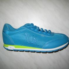 Pantofi sport dama WINK;cod FS5691-3;marime:37-41 - Adidasi dama Wink, Culoare: Turcoaz, Marime: 38, 40, Piele sintetica