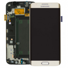 Display Samsung S6 Edge G925 gold touchscreen lcd