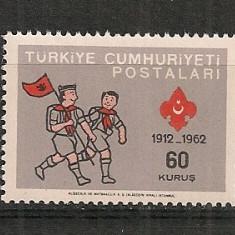 Turcia.1962 60 ani Cercetasii  ST.104