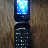 Yezz - Telefon mobil Dual SIM, Negru, 1GB, Neblocat, Single core, 512 MB