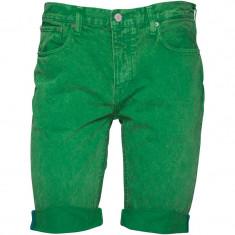 Blugi scurti pantaloni bermude adidas Originals Fairway ORIGINALI masura 28 - Blugi barbati Adidas, Culoare: Verde, Skinny, Normal