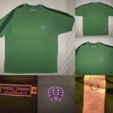 Tricou FRED PERRY POLO PIQUE  M  barbati  ultras casual polo - verde