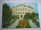 Carte postala / Tg.Mures - Liceul Bolyai Farkas (anii 80), Circulata, Fotografie, Romania de la 1950