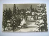 Carte postala / Predeal - vedere iarna (anii 70), Circulata, Fotografie, Romania de la 1950