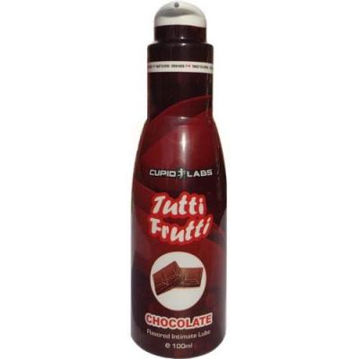 Tutti Frutti lubrifiant vaginal aroma ciocolata, 100ml foto