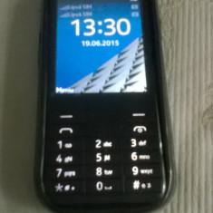 Nokia225 - Telefon Nokia, Negru, Neblocat, Dual SIM