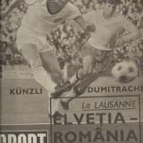 Revista SPORT nr. 9/1969   Crisul Oradea  Elvetia