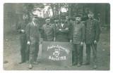 2883 - BUCURESTI, Atelier montaj coloane la locomotive - real PHOTO - 1918