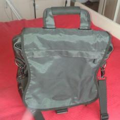 Geanta laptop Kensington Saddlebag Pro, 16 inch, Neopren, Gri