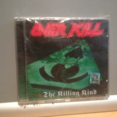 OVERKILL - THE KILLING KIND(1996 /ROBA REC /GERMANY ) - CD rock -NOU/SIGILAT - Muzica Rock universal records