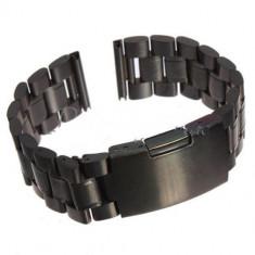Bratara/curea metalica 22 mm. (MOTO 360 gen. 2 - 46 mm/LG URBANE/GEAR 2/PEBBLE) - Curea ceas din metal