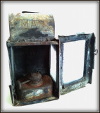 Felinar semnalizare - lampa MAN, perioada interbelica, Lampi