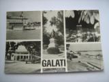 Carte postala / Galati - vedere (anii 70), Circulata, Fotografie, Romania de la 1950