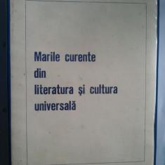 DIAPOZITIVE - MARILE CURENTE DIN LITERATURA SI CULTURA UNIVERSALA { SET COMPLET}