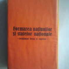 DIAPOZITIVE - FORMAREA NATIUNILOR SI STATELOR NATIONALE { SET COMPLET }