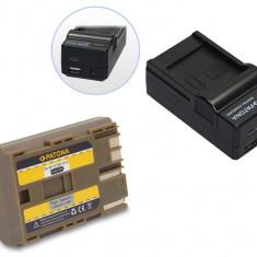 PATONA | Incarcator 4in1 USB + Acumulator pt Canon BP-511 BP511 BP-511A - Incarcator Aparat Foto