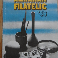 Carte / Almanah Filatelic - 86