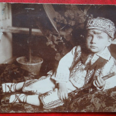 Vedere/Carte postala - Poza Baiat in costum - Turc? Popular