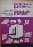 Prelucrarea electronica a informatiei economice