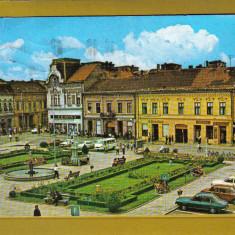 LUGOJ CENTRUL 1980 - Carte Postala Transilvania 1904-1918, Circulata, Fotografie