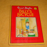 Enid Blyton - Billy's Bicycle - ilustratii S. Holmes / K. Scott - format mic - in limba engleza - Carte educativa