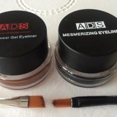 Tus ochi gel ADS negru-maro+2 aplicatoare