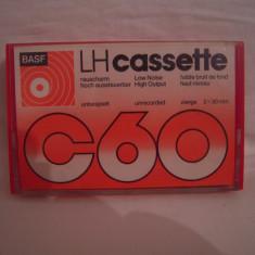 Vand caseta audio BASF LH C-60, originala, raritate!