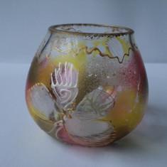 Sticla pictata - Bol sticla