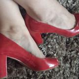 Pantofi dama noi marca Neutralizer Carmen superbi!, 37.5, Corai, Cu toc
