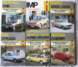 6 Manuale Haynes. ROVER 2000, IMP, DATSUN CHERRY, FIAT etc. Text in engleza. Noi