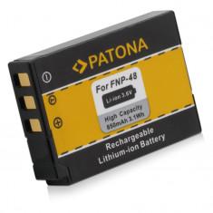 1 PATONA | Acumulator compatibil Fuji NP-48 NP48 NP 48 | 850mAh, Dedicat