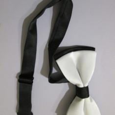Plain Bowtie Pre Tied Wedding Bow Tie Necktie Papion barbat papion baiat papion - Papion Barbati