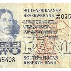 AFRICA DE SUD 2 RAND 1981 VF - bancnota africa