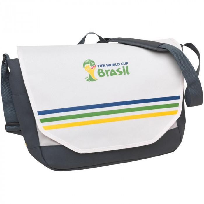 Geanta de umar , messenger , postas , ADIDAS Brasil ORIGINALA
