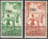 Anglia / Colonii, NEW ZEALAND, 1941, nestampilate, MH, Nestampilat
