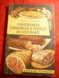 E.Teisanu - Conservarea Carnurilor si Pestelui in Gospodarie - Ed. Tehnica 1960