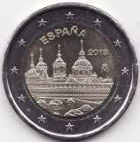 Moneda - Regatul Spaniei - 2 Euro 2013 - Manastirea El Escorial