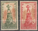 Anglia / Colonii, NEW ZEALAND, 1945, nestampilate, MH, Nestampilat