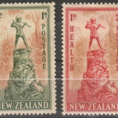 Anglia / Colonii, NEW ZEALAND, 1945, nestampilate, MH