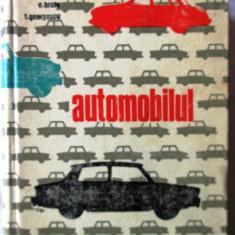"""AUTOMOBILUL"", Vasile Radulescu / Eugen Bratu / Titu Georgescu, 1968. Carte noua"