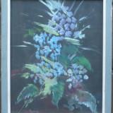 Flori - semnat Roman - Pictor roman