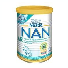 Lapte Praf Nan Anti Regurgitare Nestle 400gr Cod: 7613033036965