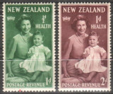 Anglia / Colonii, NEW ZEALAND, 1950, nestampilate, MH, Nestampilat