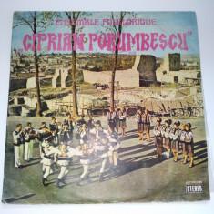 Disc RAR - vinil Ensemble Folklorique CIPRIAN PORUMBESCU, Suceava - Dirijor : George Sarbu - Muzica Populara electrecord
