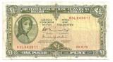IRLANDA 1 LIRA POUND 1976 F
